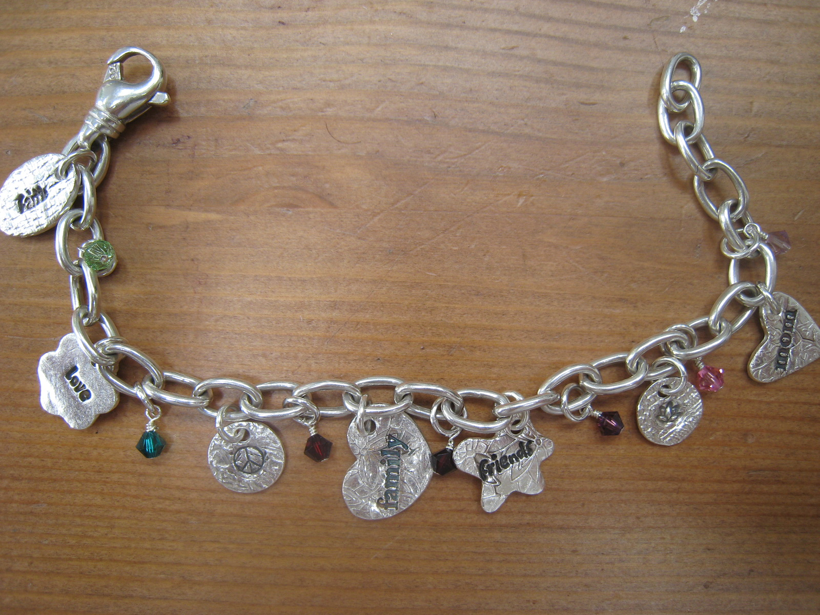 Artisan Jewelry by Claudia Amling Designs Charm Necklaces